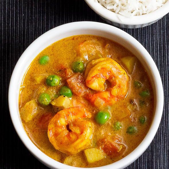 Jamaican Curried Shrimp