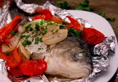 Roasted Jerk Fish