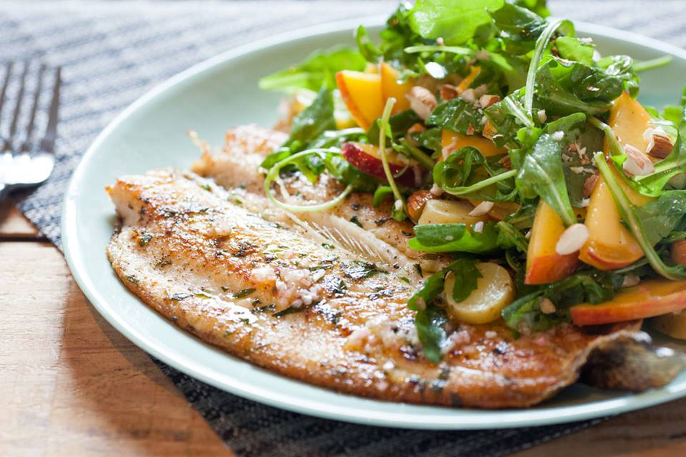 Pan Fried Trout Fillet